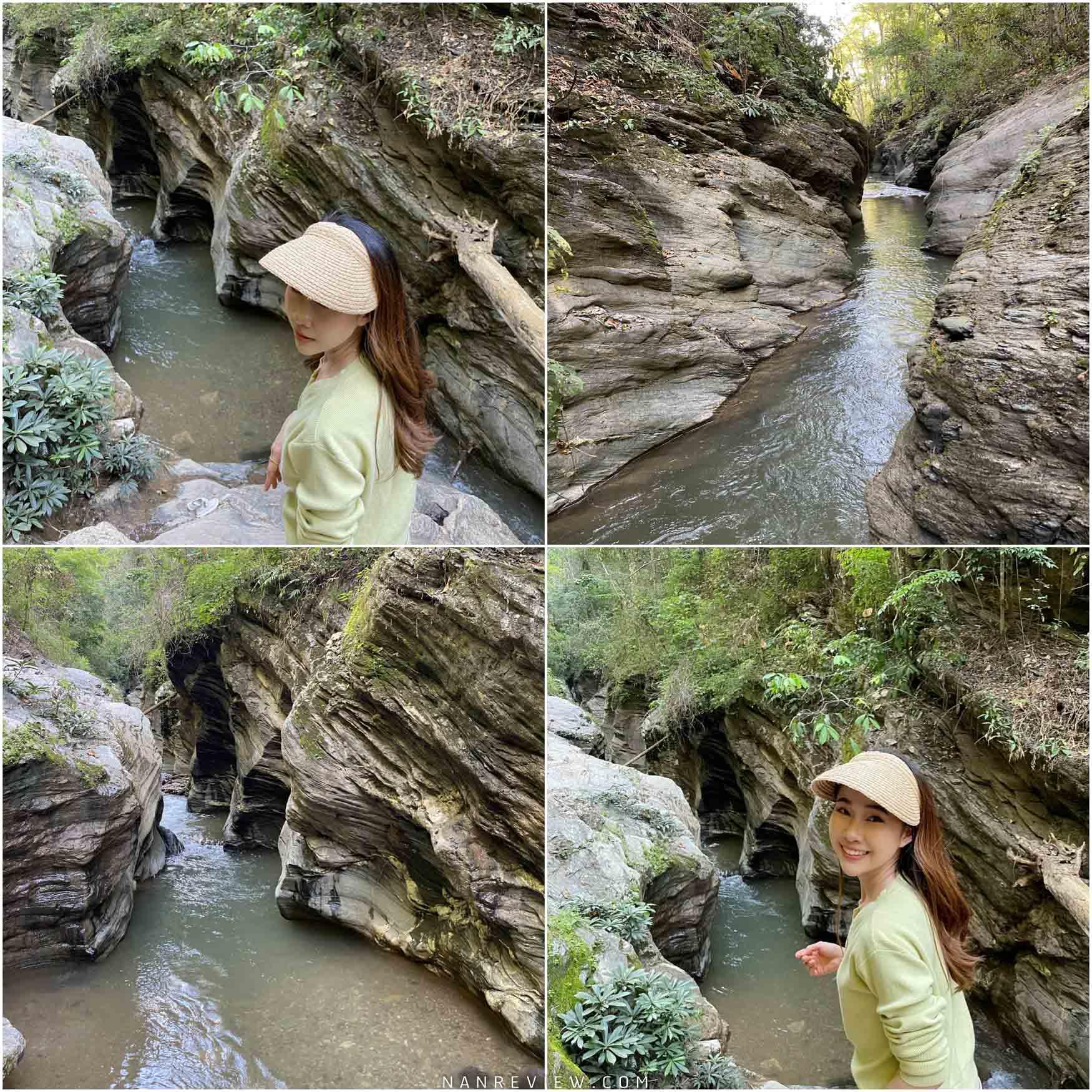 วังศิลาแลง วิวสวย เดินเข้าไปไม่ลึก ทางเข้าซ้ายมือมีป่าไผ่ถ่ายภาพมุมสวยๆได้ น้ำเย็นสบายน่าเล่นมวากก
